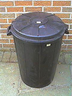 Large Heavy Duty Rubber Dustbin