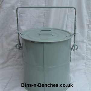 wiping cloth collection bin