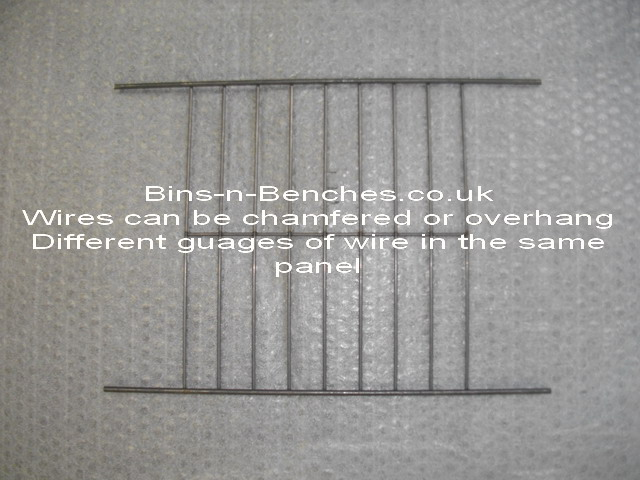 we can produce panels with different wire guages