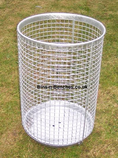 Wire Bins | Wire Mesh Litter Bins Bins N Benches Manufacturers Suppliers Of
